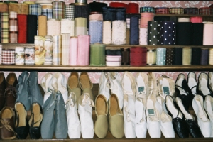 Housewares (womens shoes and ribbons)