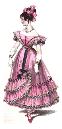 Ball Dress on Fashion Plate Example From Ackerman   S Repository   Ball Dress