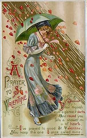 valentine's day vintage decorations